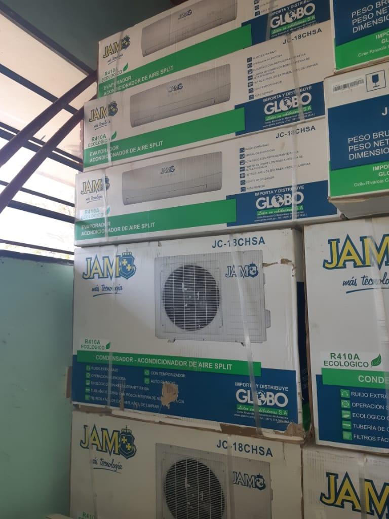 Acondicionador de aire y equipos de refrigeración distribuidas.